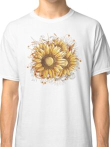 Pretty Sunflowers Classic T-Shirt
