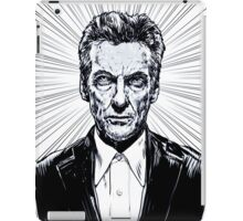 The Twelfth Doctor : Peter Capaldi is Doctor Who iPad Case/Skin
