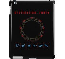 Destination Earth chevron symbols iPad Case/Skin