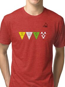 East Peak Apparel - 2014 Tour de France Grand Depart Tri-blend T-Shirt