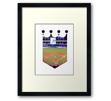 Kansas City Royals Stadium Color Framed Print