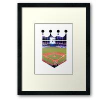 Kansas City Royals Stadium Color Framed Print