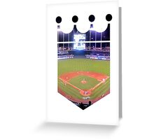 Kansas City Royals Stadium Color Greeting Card