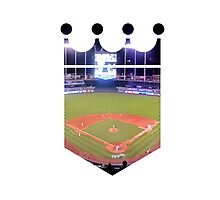 Kansas City Royals Stadium Color Photographic Print