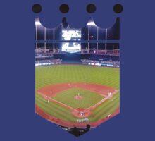 Kansas City Royals Stadium Color by Josh Eisenmann