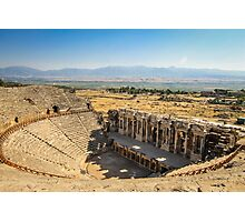 Ancient Ruins of Hierapolis, Turkey Photographic Print