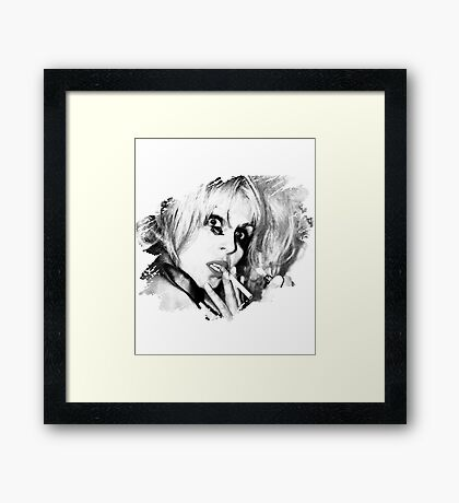 Patsy Stone Partying Framed Print