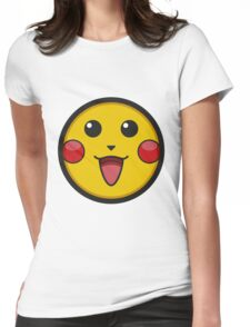 Pikachu Graphic Icon Womens Fitted T-Shirt