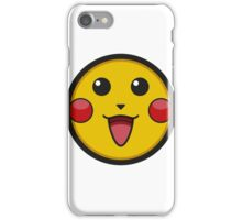 Pikachu Graphic Icon iPhone Case/Skin