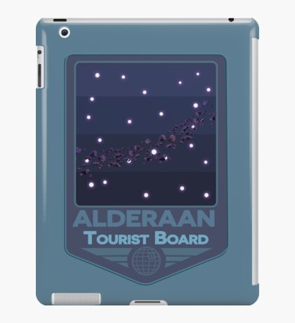 Alderaan - Tourist Board Badge iPad Case/Skin