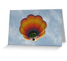 Hot Air Balloon, Bristol Greeting Card