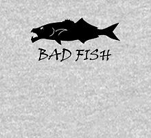 Bad Fish - Bluefish (Black for Light Colored Backgrounds) Unisex T-Shirt