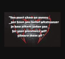 Ultimate Warrior - No Mercy Quote by adriandude8544