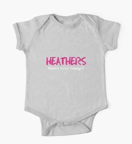 Heathers - What's Your Damage? One Piece - Short Sleeve