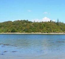 Morar Beach Panorama by Chris Thaxter