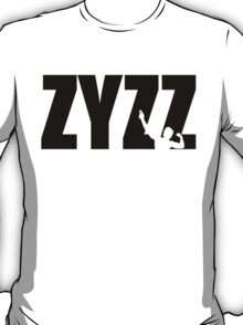 Zyzz Text Black T-Shirt