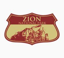 Zion National Park Kids Tee