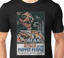 Attack of the Puppet People Vintage Retro Movie Poster  Unisex T-Shirt