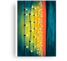Lights In The Sky Canvas Print