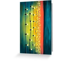 Lights In The Sky Greeting Card