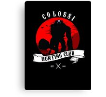 Colossi Hunting Club Canvas Print