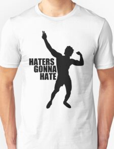 Zyzz Haters Gonna Hate Black T-Shirt