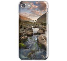 Snowdonia- Llanberis Pass Sunrise iPhone Case/Skin