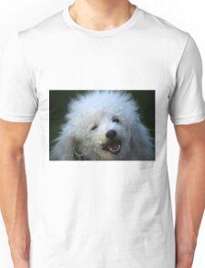 cute dog poodle Unisex T-Shirt
