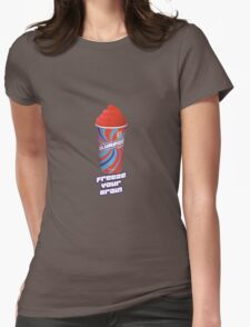Heathers - JD Freeze Your Brain Slurpee Womens Fitted T-Shirt