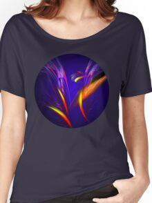Float Colorful Feathers Women's Relaxed Fit T-Shirt