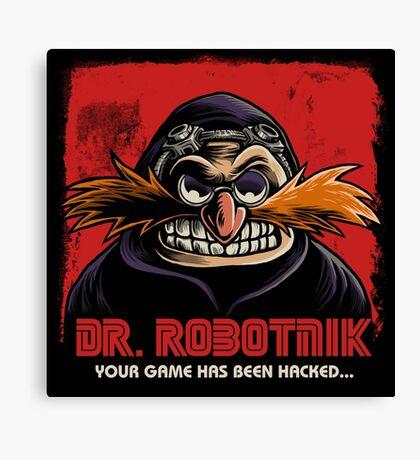 Mr Robotnik Canvas Print