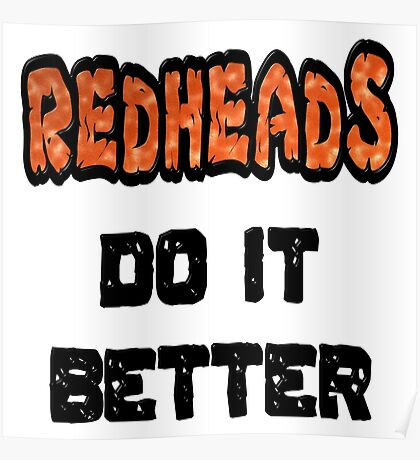 Redheads Do It Better Poster