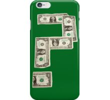 Question Mark of American Money iPhone Case/Skin