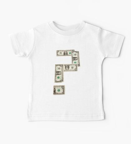 Question Mark of American Money Baby Tee