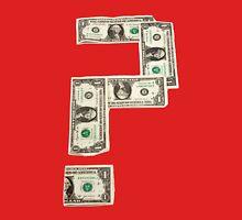 Question Mark of American Money Unisex T-Shirt