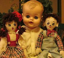 Three Old Dolls by TippyToes