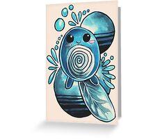 Poliwag Greeting Card