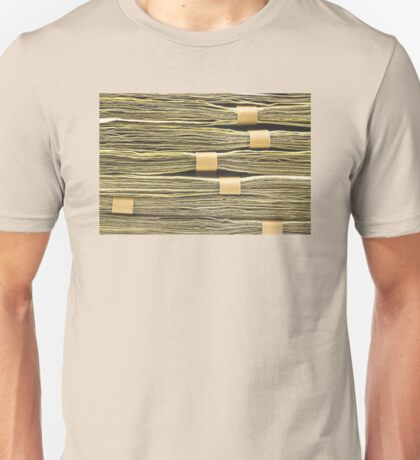 Large Stack Of American Cash Money Unisex T-Shirt
