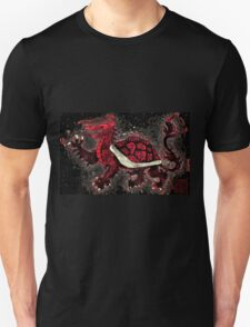 The Red Turtle Dragon Unisex T-Shirt