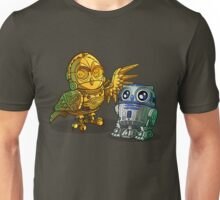 C-3pOWL and r2HOO-d2HOO Unisex T-Shirt