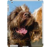 Italian Spinoni Dogs Woody and Ruben iPad Case/Skin