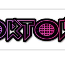Nortodo Font Sticker Sticker