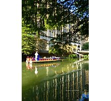 A Ride on The Riverwalk Photographic Print