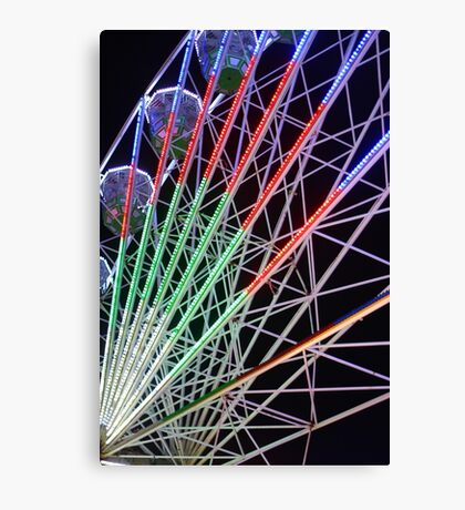 Big Wheel at the Fairground Canvas Print