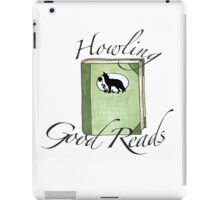 Howling Good Reads iPad Case/Skin