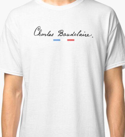 Charles Baudelaire - Signature 01 Classic T-Shirt
