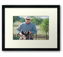 Riding Proud Framed Print