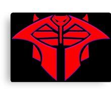 Cobra Decepticon Magneto Mashup Canvas Print