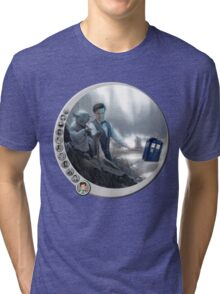 The 11th Day of the Doctor Jedi Tri-blend T-Shirt