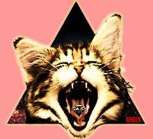 Kitten Triangle by 10813Apparel
